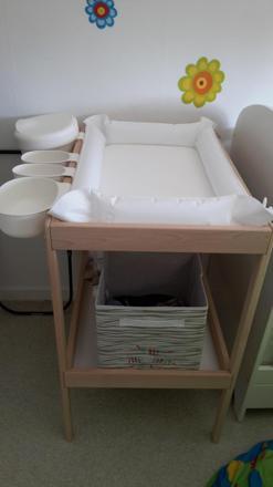 accessoire table à langer