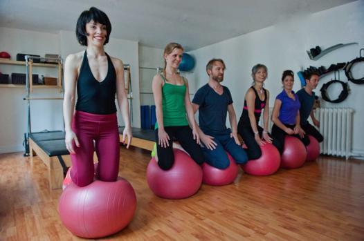 ballon de pilates