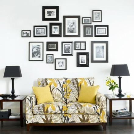cadre photo decoratif