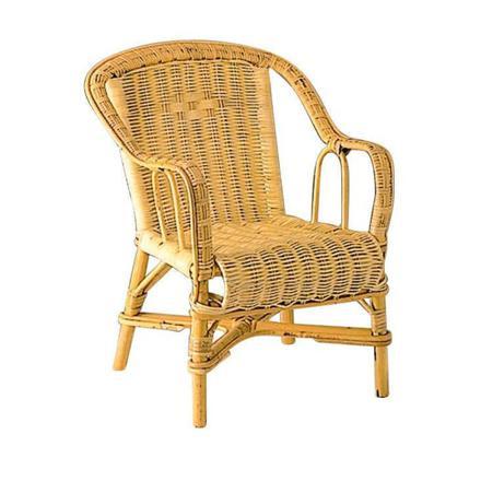 chaise en osier