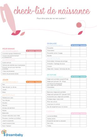 liste de naissance