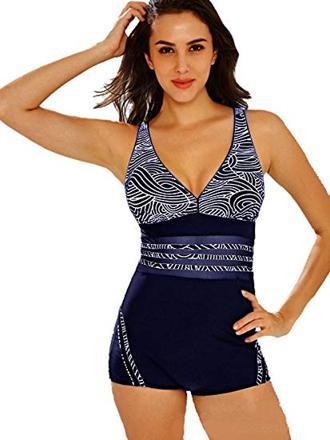 maillot de bain femme 1 piece shorty