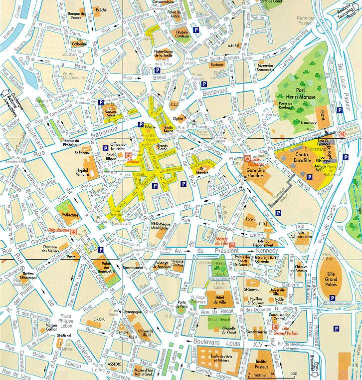 maps lille
