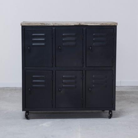 meuble casier metal