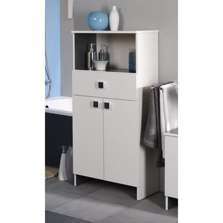meuble salle de bain rangement
