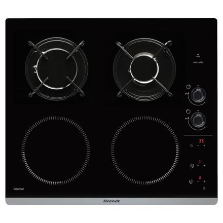 plaque de cuisson mixte gaz induction