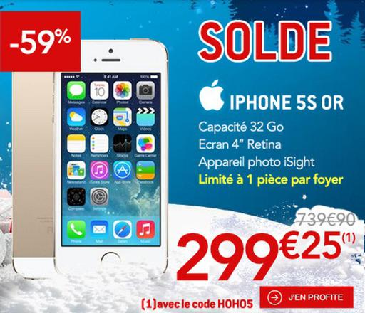 soldes iphone