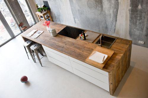 table de travail cuisine