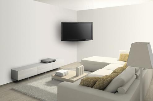 tele accrocher au mur