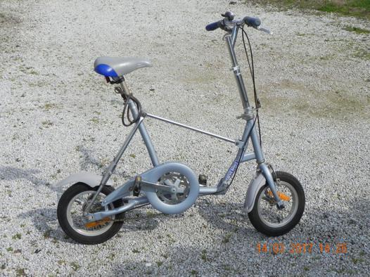 vélo pliant décathlon occasion
