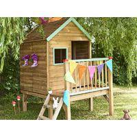 cabane de jardin en bois enfant