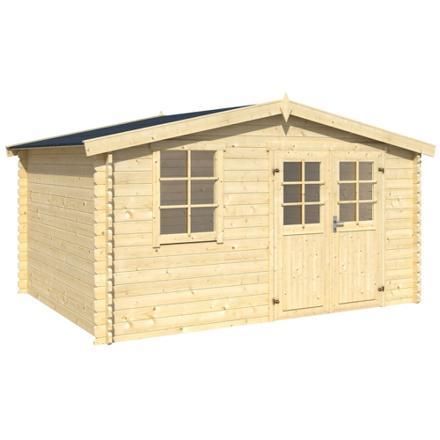 cabane de jardin en bois