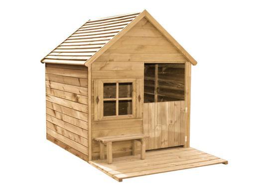 cabane en bois enfant