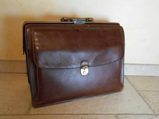 cartable cuir texier