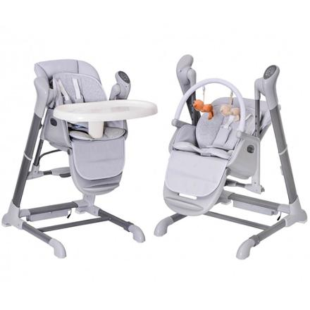 chaise haute balancelle