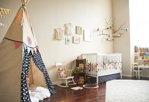 chambre bébé nature