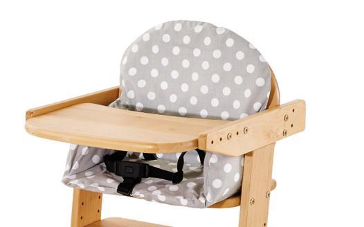 coussin pour chaise bebe