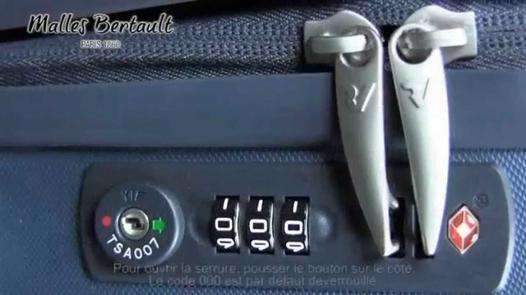 débloquer cadenas tsa 007