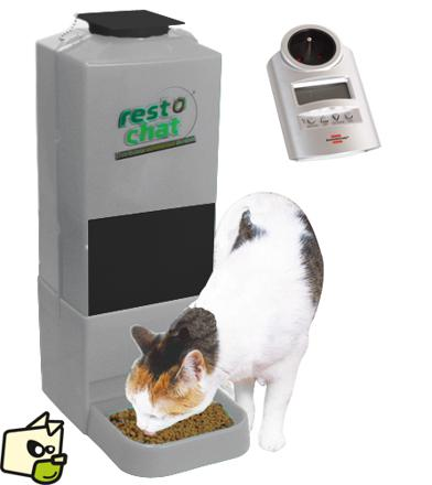 distributeur automatique chat