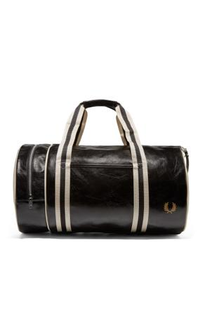 fred perry barrel bag