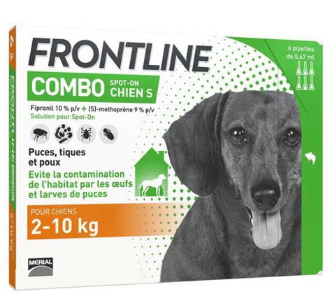 frontline combo chien 2 10kg