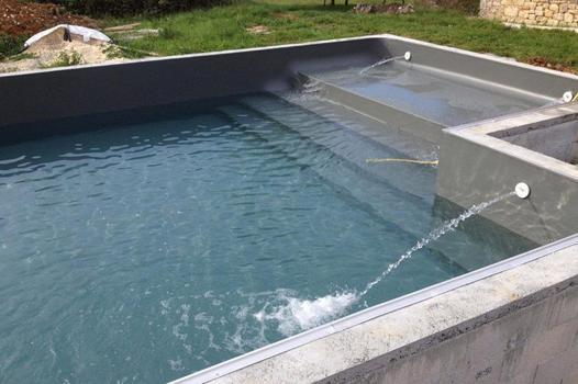 mise en eau piscine