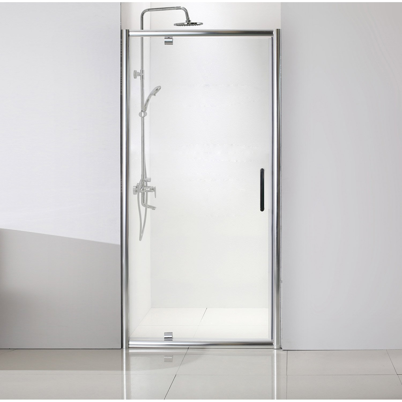 porte de douche pivotante