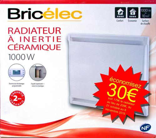 radiateur promo