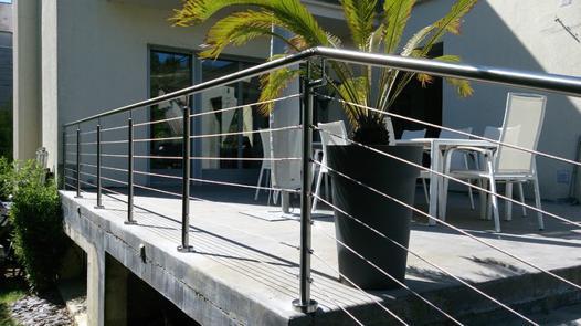 rambarde terrasse