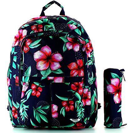 sac a dos roxy avec trousse