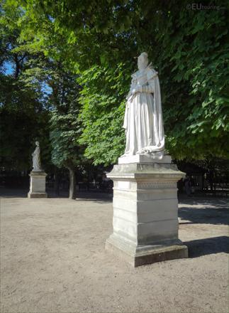 statue jardin