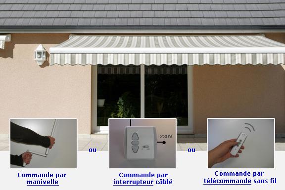 store électrique extérieur