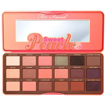 sweet peach palette