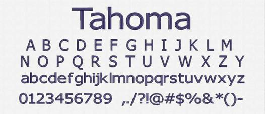 tahoma