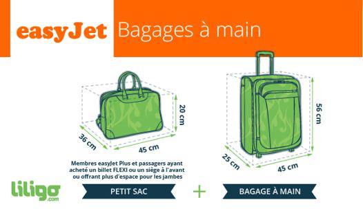 taille bagage a main