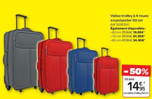 valise promo