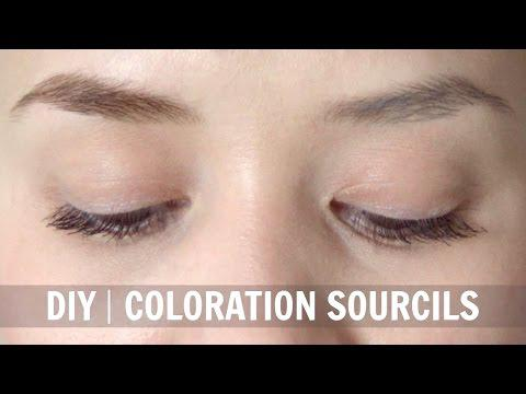 coloration sourcils