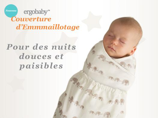 couverture d emmaillotage ergobaby