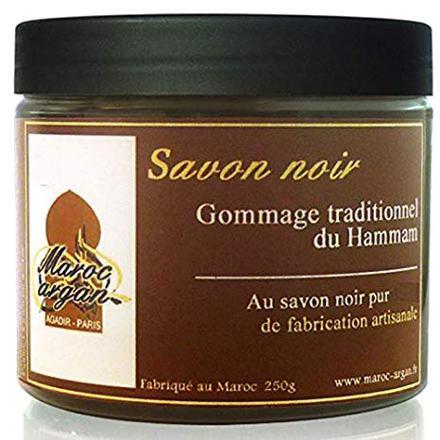 gommage savon noir