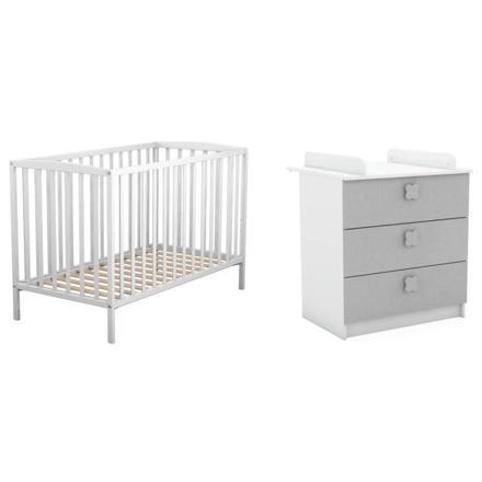 ▷ Avis Lit bébé avec table à langer intégrée 【 Le Meilleur ...