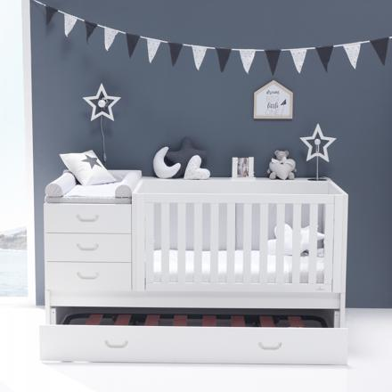 lit bébé table à langer intégrée