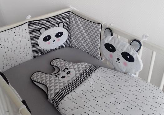 tour de lit panda