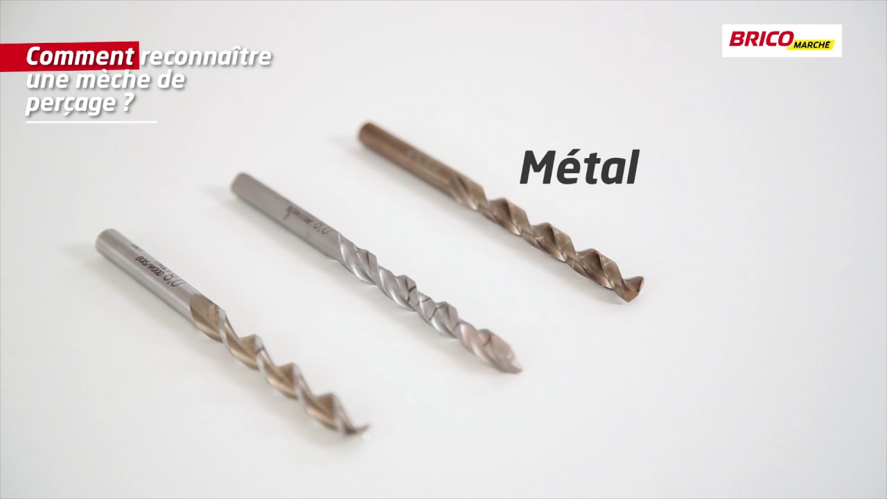 foret perceuse metal