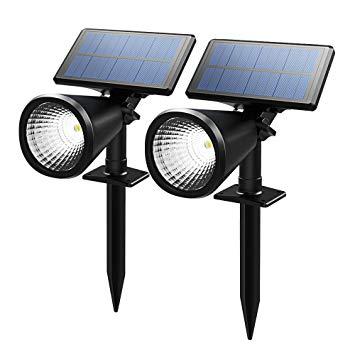 spot exterieur solaire