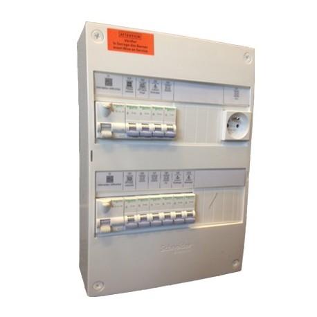 tableau electrique pre cable