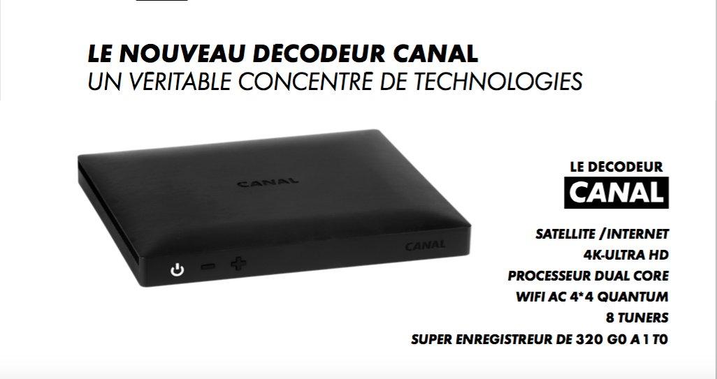 nouveau decodeur canal 2018